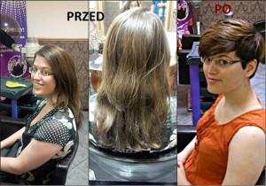 avant après coiffure